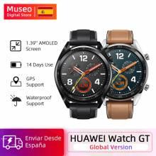 Reloj Inteligente Huawei GT Smart Watch GPS 5 ATM a prueba de agua Frecuencia Cardíaca