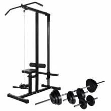 Gran Máquina de musculación con pesas y mancuernas 30,5 kg