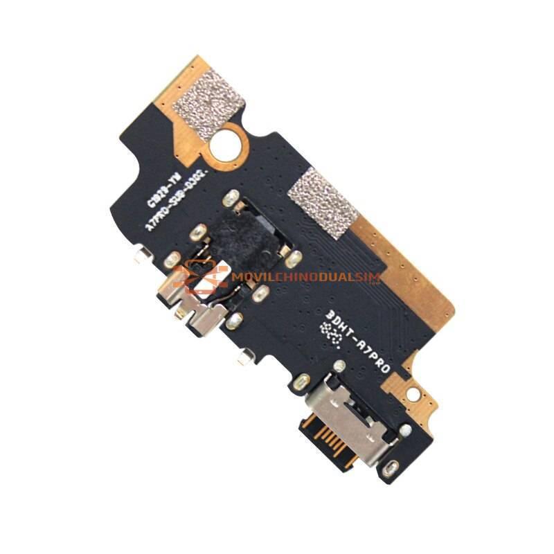 Repuesto placa USB cargador de enchufe para movil chino UMIDIGI A7 PRO