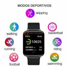 Reloj inteligente LEMFO B57C  para mujer y hombre IP67 impermeable monitor de ritmo cardiaco