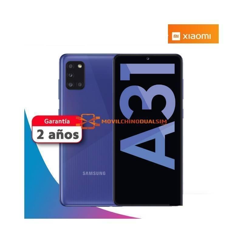 """Precioso Movil Samsung Galaxy A31 4GB 64GB version española pantalla 6.4"""" 4 camaras traseras bateria de 5000 mAh"""