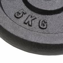 Pack de Discos de pesas de hierro fundido 4 unidades 20 kg