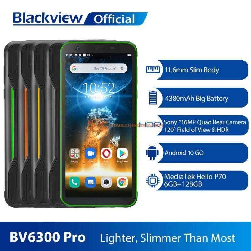 Movil chino Blackview BV6300 Pro con procesador Helio P70 6GB RAM 128 GB rom