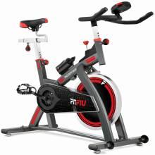 Gran Bicicleta spinning FITFIU magnetica profesional pantalla LCD disco inercia 24kg
