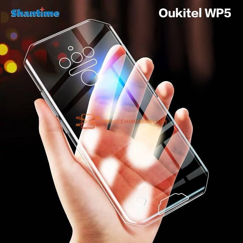Funda de proteccion en silicona para movil chino Oukitel WP5 o WP5 PRO