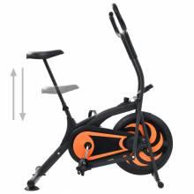 Fantastica Bicicleta estática de aire 46 cm color naranja
