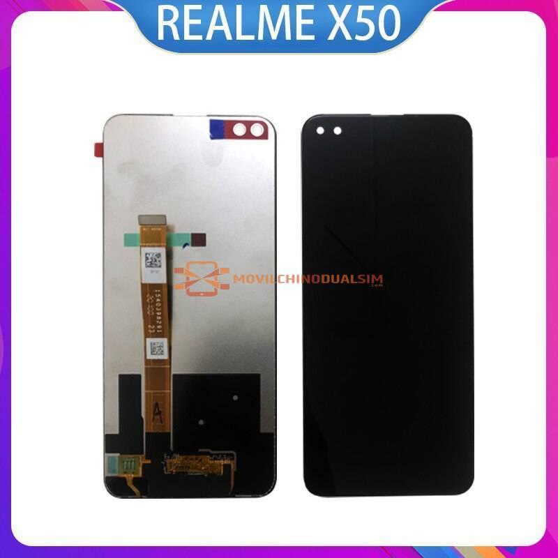 Pantalla LCD + pantalla táctil de reemplazo para movil chino REALME X50 X50M