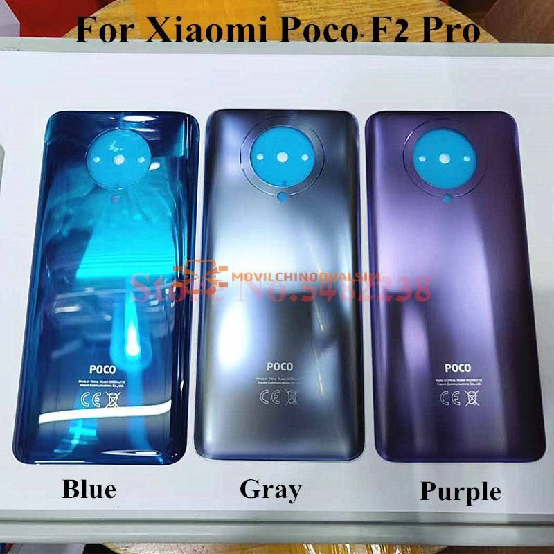 Tapa trasera original de batería para movil chino Xiaomi POCO F2 Pro