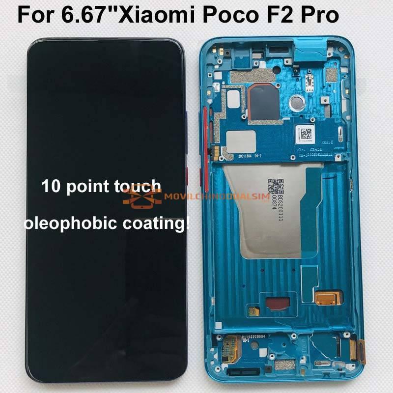 Pantalla LCD + pantalla táctil de reemplazo para movil chino Xiaomi Poco F2 Pro