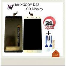 Pantalla LCD + pantalla táctil de reemplazo para movil chino XGODY D22