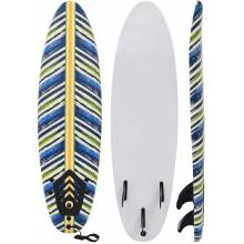 Preciosa Tabla de surf 170 cm modelo hojas