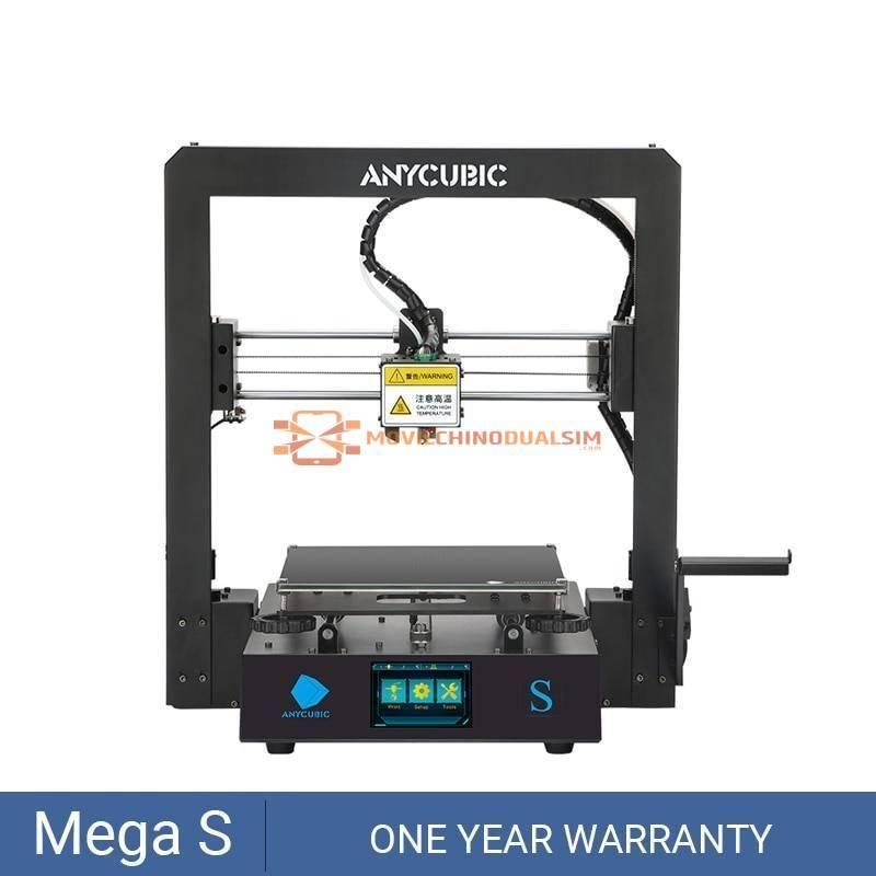Impresora 3D China ANYCUBIC Mega-S Mega S I3 Mega pantalla táctil de alta precisión DIY kit