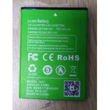 Bateria original de 2500 mAh para movil chino xgody-d27