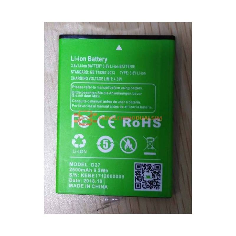 Bateria original de 2500 mAh para movil chino xgody-d27