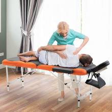 Preciosa Silla de Masaje Plegable Portátil para Fisioterapia
