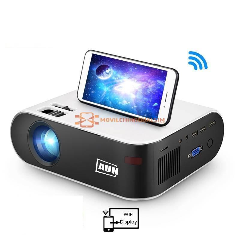 Proyector chino W18 2800 lmenes Apoyo Full HD 1080P LED 3D