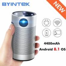 Proyector Chino BYINTEK P7 portatil de bolsillo Android WIFI 1080p HD Video