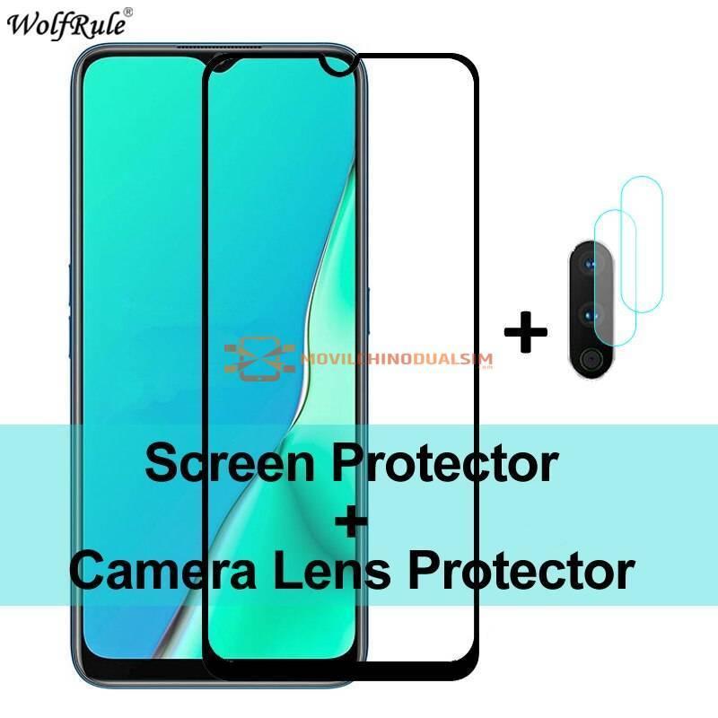 2 Unidades de protector de pantalla vidrio templado de alta calidad para movil Realme 6 Pro