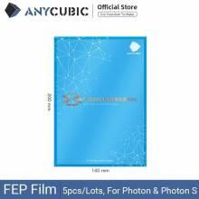 5 Unidades de pelicula para la impresora 3D ANYCUBIC FEP de resina de fotones 140x200mm