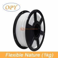 Filamento Flexible impresion 3D TPU 1.75mm Material de goma rollo 1kg