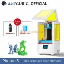 Impresora China 3D ANYCUBIC photon-s Dual Z axis Quick Slice 405nm matriz UV Impresion resina