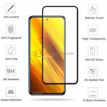 4 en 1 Unidades de protector de pantalla vidrio templado de alta calidad para movil chino Xiaomi Poco X3