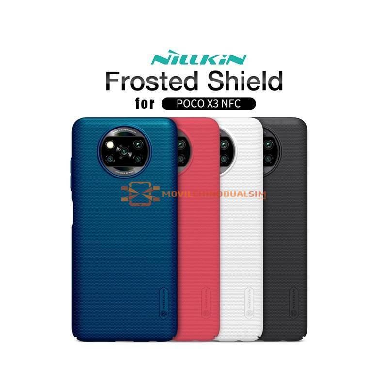 Funda de proteccion en silicona para movil chino Xiaomi Poco X3 NFC