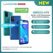 "Movil chino UMIDIGI A7S pantalla 6,53"" 20:9 ROM 32GB Bateria 4150mAh Triple Cámara Sensor de temperatura"