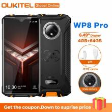 "Movil chino OUKITEL WP8 PRO NFC IP68 pantalla 6,49"" 4GB RAM 64GB ROM 5000mAh Android 10 16MP Triple Cámara Octa Core 4G"