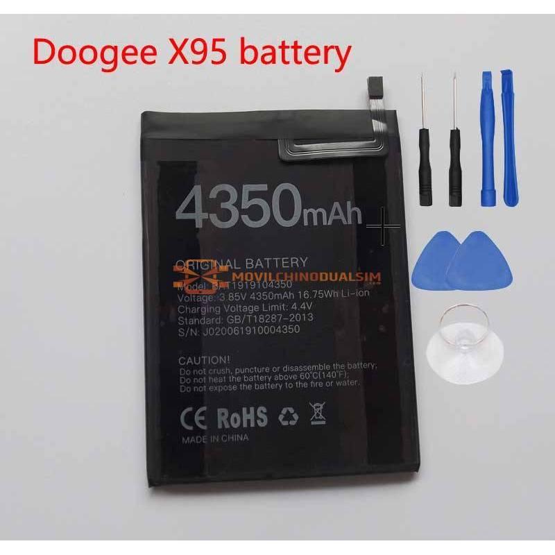 Bateria original de 4350 mAh para movil chino Doogee X95