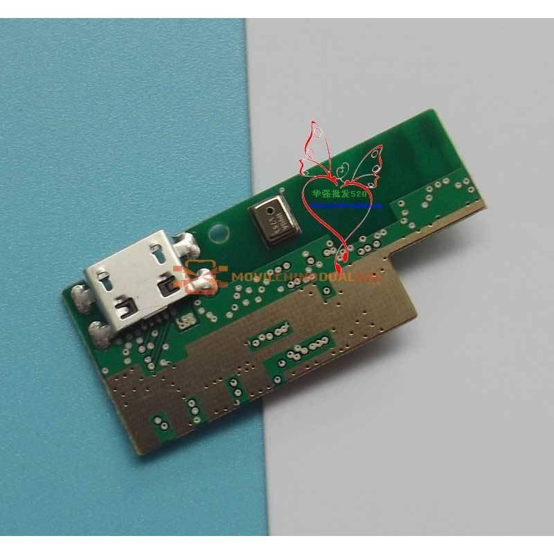 Repuesto placa USB cargador de enchufe para movil chino Doogee X95