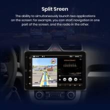 Reproductor multimedia Radio con GPS para coche, Radio con reproductor 2 din, DVD, Android 10,0 para VW/Volkswagen Golf Passat