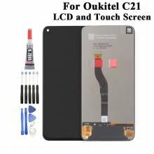 Pantalla LCD + pantalla táctil de reemplazo para movil chino Oukitel C21