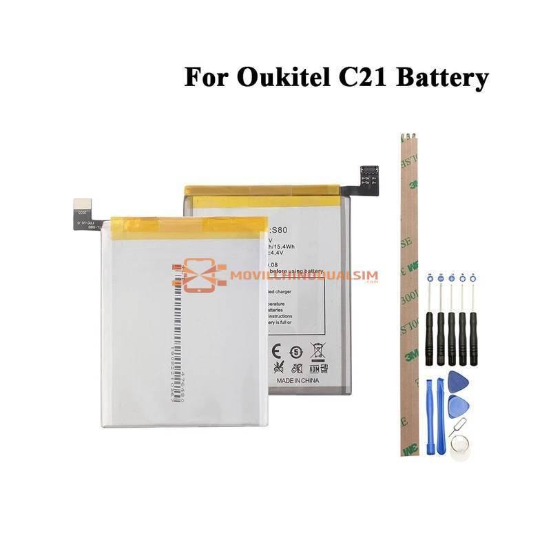 Bateria original de 4000 mAh para movil chino Oukitel C21