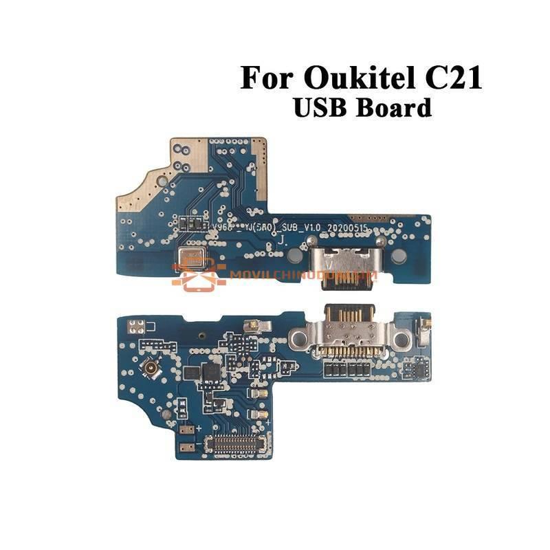 Repuesto placa USB cargador de enchufe para movil chino Oukitel C21