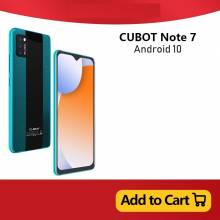 Movil chino Cubot Note 7 Pantalla 5.5 identificacion facial 4G LTE