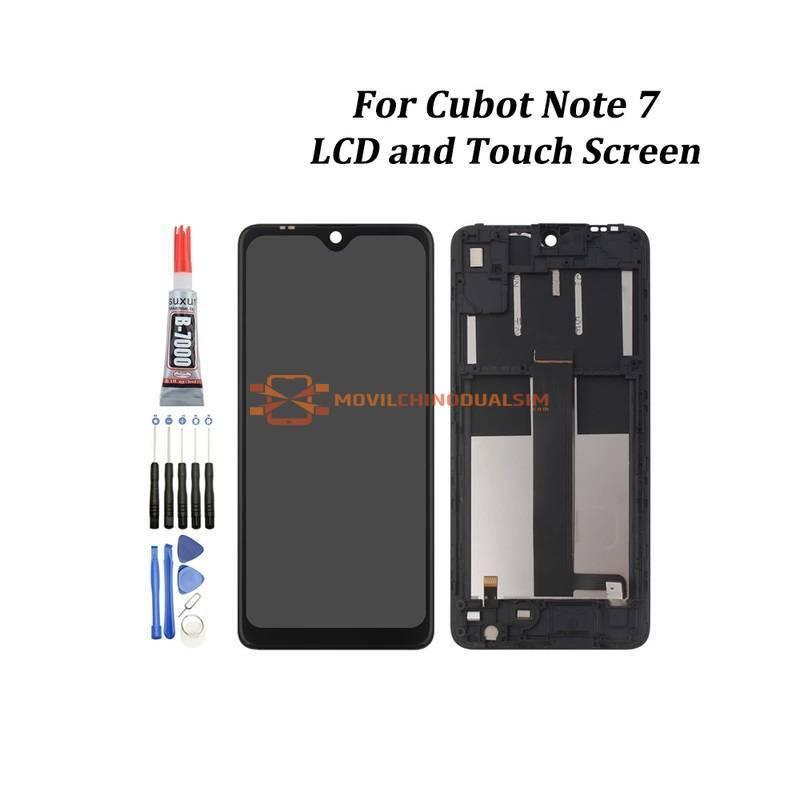 Pantalla LCD + pantalla táctil de reemplazo para movil chino Cubot Note 7