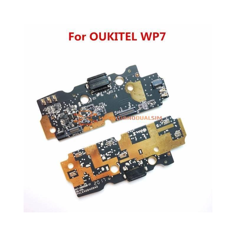 Repuesto placa USB cargador de enchufe para movil chino OUKITEL WP7