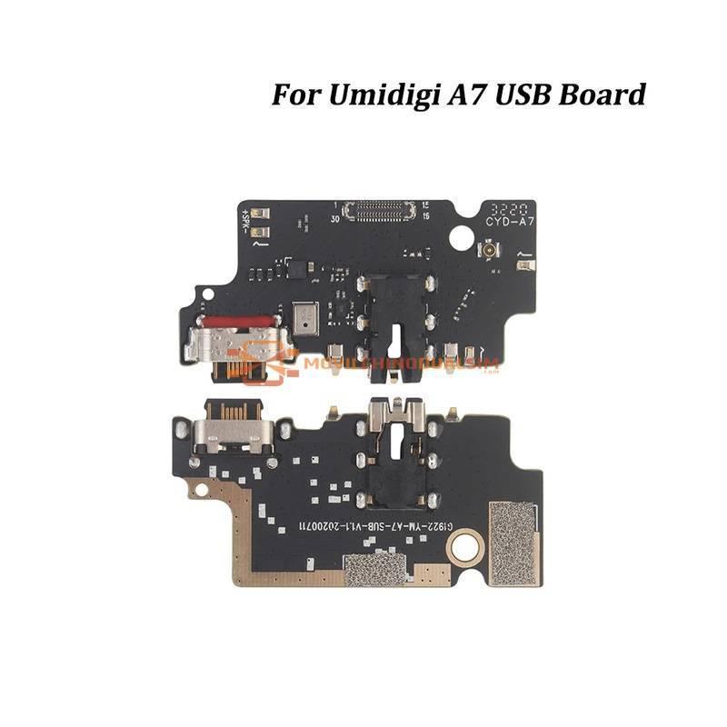 Repuesto placa USB cargador de enchufe para movil chino Umidigi A7