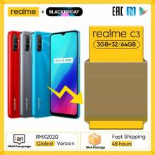Movil chino Realme C3 camara de 12MP 3GB de RAM 64GB de ROM Helio G70 MTK