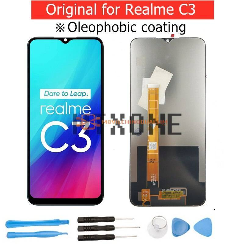 Pantalla LCD + pantalla táctil de reemplazo para movil chino Realme C3