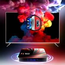 Tv box reproductor multimedia 4K H.265 para TV, Android 10, 4GB, 32GB, 64GB, Bluetooth