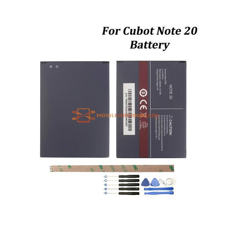 Bateria original de 4200 mAh para movil chino Cubot Note 20