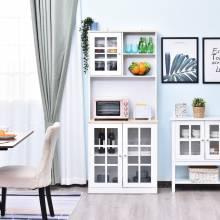 Preciosa aparador de cocina auxiliar almacenaje