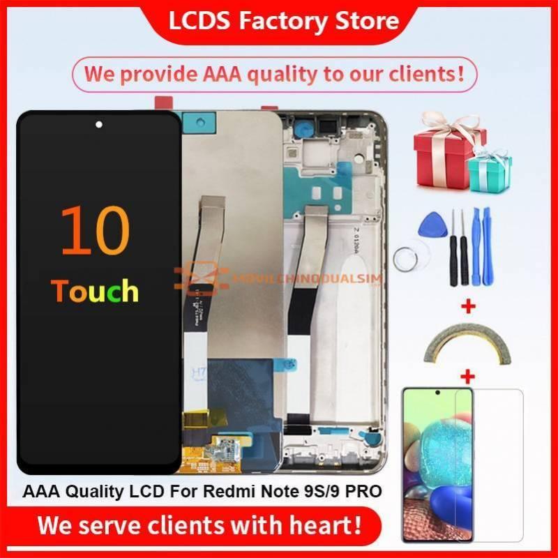 Pantalla LCD + pantalla táctil de reemplazo para movil chino Xiaomi Redmi Note 9 PRO