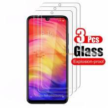 3 Unidades de protector de pantalla vidrio templado de alta calidad para movil chino Xiaomi Redmi Note 9 Pro