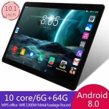 Tablet China KIVBWY pantalla 10.1 pulgadas 6GB RAM 64GB ROM 1280x800 IPSl tarjeta SIM 4G LTE FDD Wifi Android 8.0