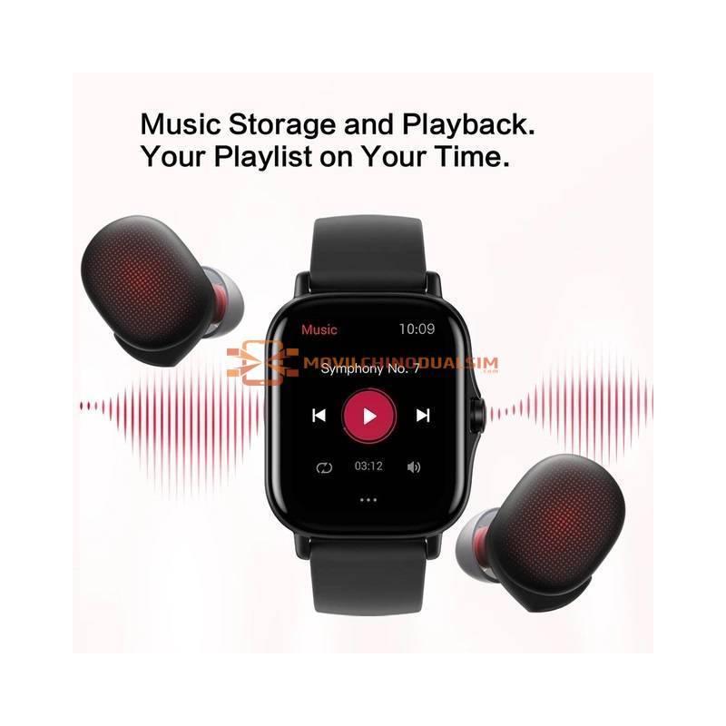 Reloj inteligente Amazfit GTS 2 resistente al agua hasta 5atm batería de larga duración para teléfonos Android IOS