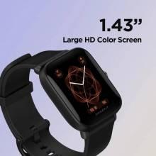 Reloj inteligente Amazfit Bip U resistente al agua hasta 5atm deportivo con pantalla a color para Android iOS