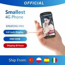 "Movil chino pequeño Cubot KingKong MINI pantalla 4"" QHD 18:9 resistente y a prueba de agua"